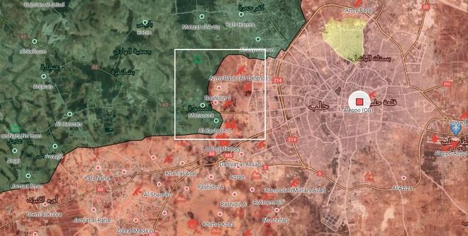 QĐ Syria tung hỏa thần khủng khiếp bậc nhất vào trận quyết chiến Aleppo - Khai màn bão lửa sấm sét - Ảnh 1.