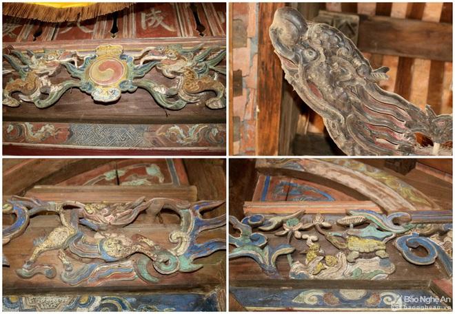 Nghệ thuật điêu khắc và báu vật gây kinh ngạc ở đền cổ Linh Kiếm - Ảnh 7.