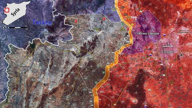 Giải phóng nồi hầm tây bắc Aleppo: Đòn chiếu tướng của Nga và phản ứng quân sự của Thổ? - Ảnh 1.