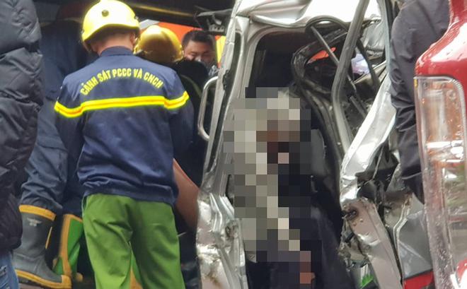 Hiện trường kinh hoàng vụ tai nạn liên hoàn khiến 1 người tử nạn, 5 người bị thương