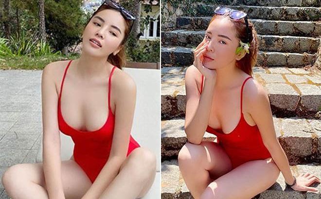 Trọn bộ ảnh bikini nóng bỏng, hút mắt của Kỳ Duyên khi đi du lịch cùng người yêu tin đồn