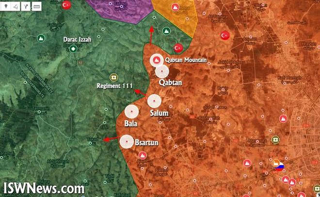 Hỏa lực mạnh Thổ Nhĩ Kỳ áp sát biên giới, sẵn sàng nhả đạn chặn đứng đà tiến công thần tốc của QĐ Syria - Ảnh 1.