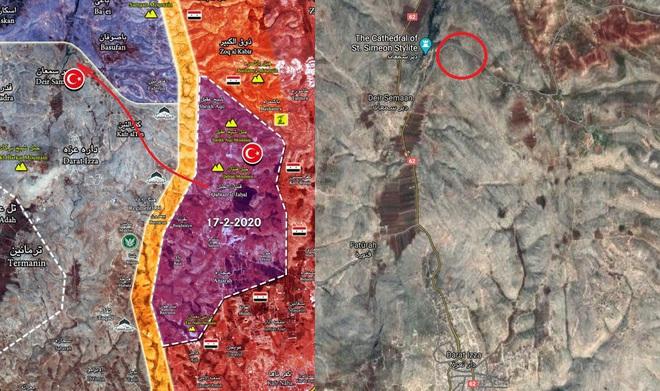 NÓNG: Trinh sát Syria bí mật nhảy cóc qua căn cứ QĐ Thổ, siết chặt vòng vây quanh Daraat Izza? - Ảnh 1.