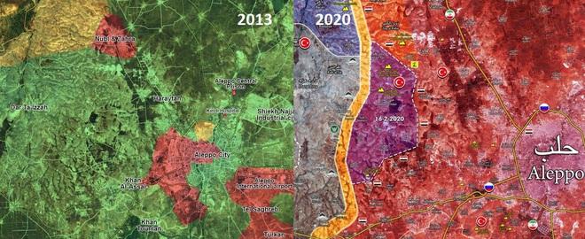 Cú nốc ao của Nga-Syria dành cho Thổ Nhĩ Kỳ: Còn lại những gì ở tây bắc Aleppo? - Ảnh 1.