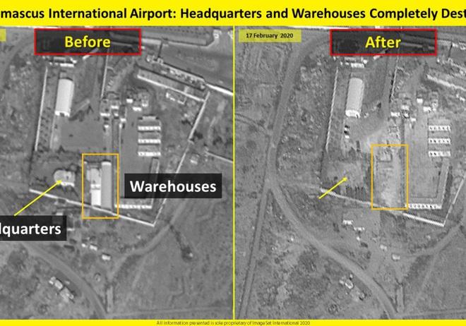 Israel không kích đánh sập sở chỉ huy đầu não của đặc nhiệm Iran ở Syria - Ảnh 3.