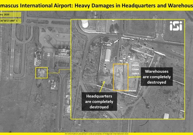 Israel không kích đánh sập sở chỉ huy đầu não của đặc nhiệm Iran ở Syria - Ảnh 1.