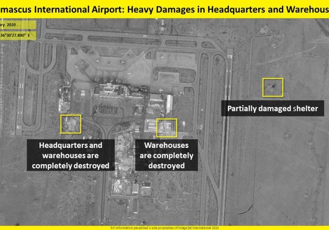Israel không kích đánh sập sở chỉ huy đầu não của đặc nhiệm Iran ở Syria - Ảnh 2.