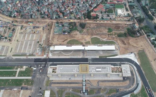 Toàn cảnh đường đua F1 trước ngày khởi tranh nhìn từ trên cao