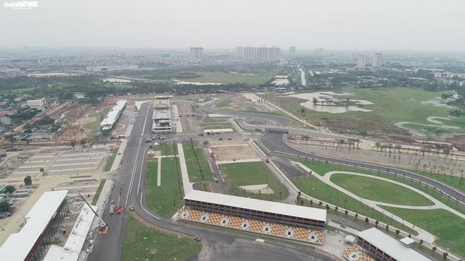 Toàn cảnh đường đua F1 trước ngày khởi tranh nhìn từ trên cao - Ảnh 10.