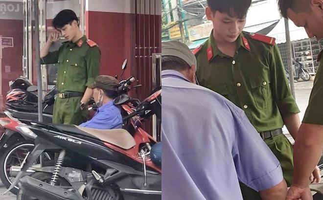 """Bật mí về bức ảnh chàng công an đẹp như hot boy Hàn Quốc khiến các cô gái ráo riết """"truy tìm"""""""