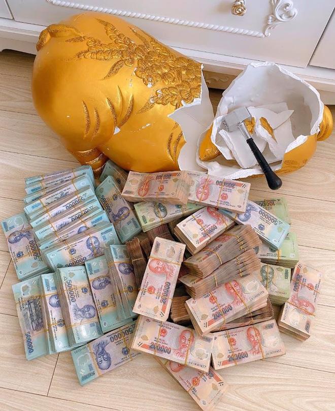Người chị trong màn trao hồi môn 49 cây vàng cùng 2,5 tỷ cho cô dâu hóa ra là gái xinh Sài Gòn từng bị tố làm màu khi đập heo đất 1 lần mà được ngót 3 tỷ - ảnh 5