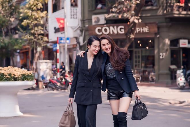 Hương Baby đọ sắc bên Trang Nhung - Ảnh 1.