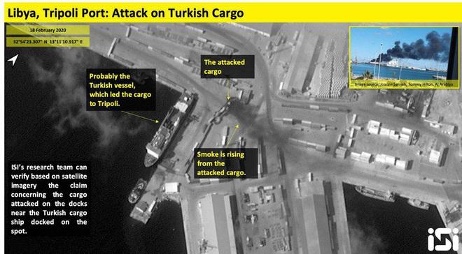 Thua liểng xiểng ở Syria, TNK tiếp tục muối mặt khi tàu chở vũ khí bị đánh úp ở Tripoli - Ảnh 3.