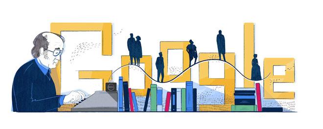 Google vinh danh Jaan Kross - Cây cổ thụ của nền văn học Estonia, người soạn hiến pháp cho quốc gia - Ảnh 1.