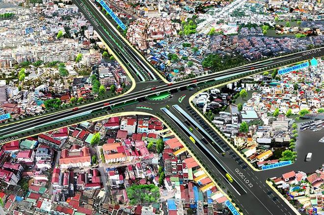 Cận cảnh nút giao thông 3 tầng giải tỏa kẹt xe cửa ngõ Sài Gòn sắp hoàn thành - Ảnh 4.