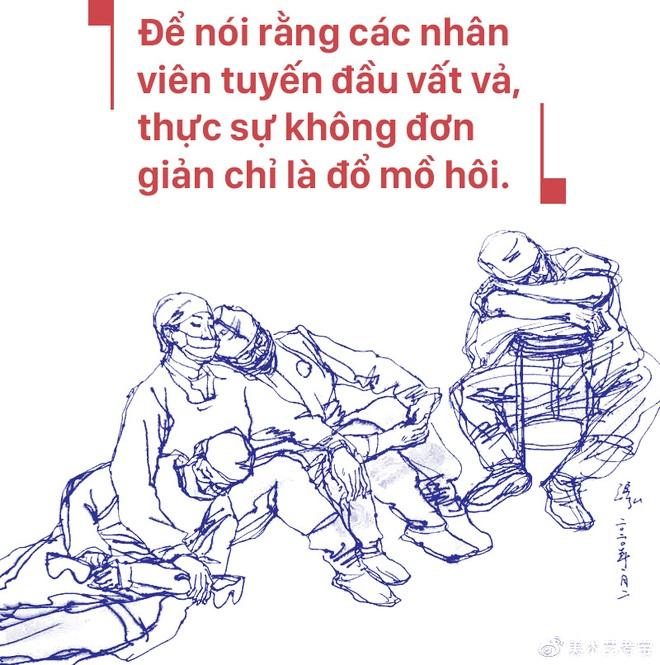 Bác sĩ ICU Vũ Hán chia sẻ chân thực: Các bệnh nhân nặng của đồng nghiệp đều tử vong, lấp đầy phòng bệnh chỉ cần 1 giờ - Ảnh 22.