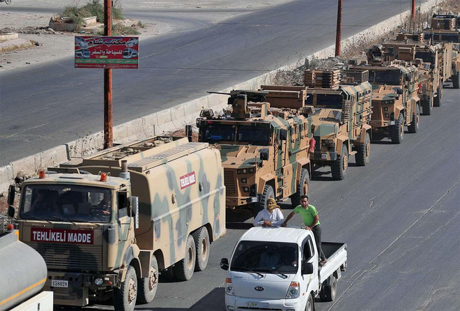 Thổ Nhĩ Kỳ dàn trận khắp biên giới Syria, TT Erdogan tuyên bố: Chiến tranh đã cận kề! - Ảnh 1.