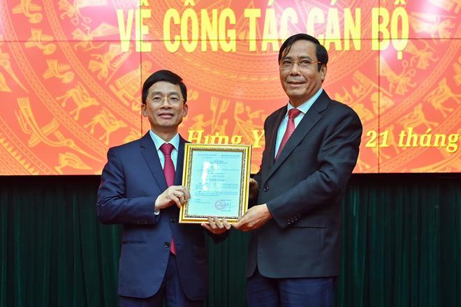 Phó Chủ nhiệm Văn phòng Chính phủ làm Phó Bí thư Thường trực Tỉnh ủy Hưng Yên - Ảnh 1.