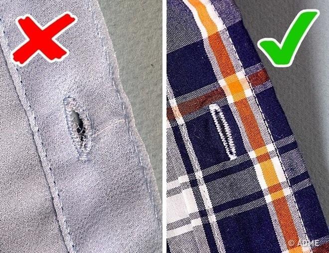 Mách chị em 8 mẹo kiểm tra để mua sắm quần áo như một chuyên gia, đảm bảo không dính hàng kém chất lượng - Ảnh 8.