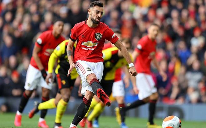 Bruno Fernandes 3 lần lập chiến công, Man United thẳng tiến vào top 5 sau trận đại thắng