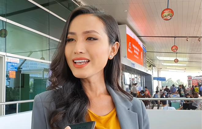 Hoa hậu chuyển giới đầu tiên của Việt Nam Hoài Sa: Mang 120kg hành lý đi Thái, sức khỏe chưa ổn định - Ảnh 3.