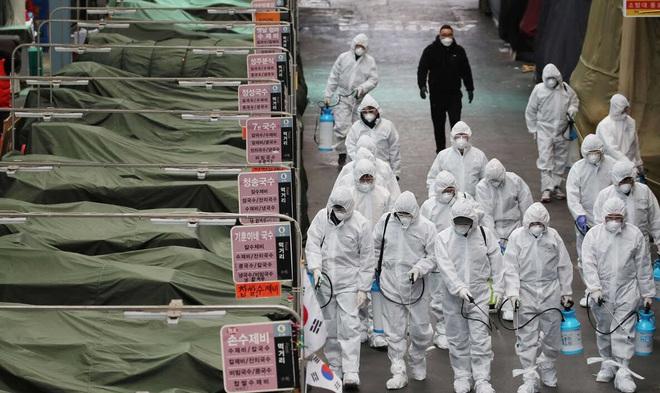 24h qua ảnh: Người dân Hàn Quốc xếp hàng dài mua khẩu trang - Ảnh 6.