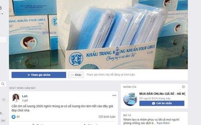 Người phụ nữ bị lừa gần nửa tỷ đồng mua khẩu trang trên mạng ở Sài Gòn