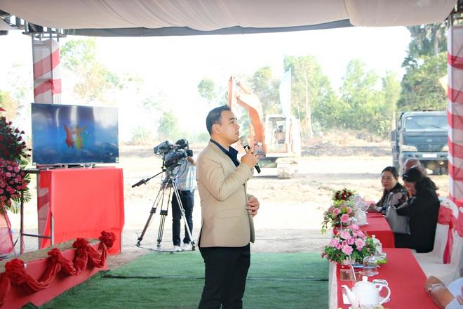 Vợ chồng Quyền Linh đầu tư 200 tỉ đồng xây dựng khu du lịch văn hóa Khmer - Ảnh 1.