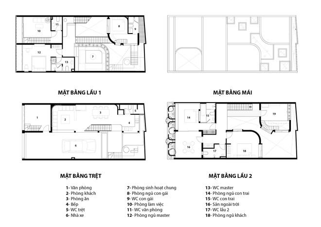 Mãn nhãn với ngôi nhà màu trắng, có lối thiết kế độc đáo tại Tp.HCM - Ảnh 14.