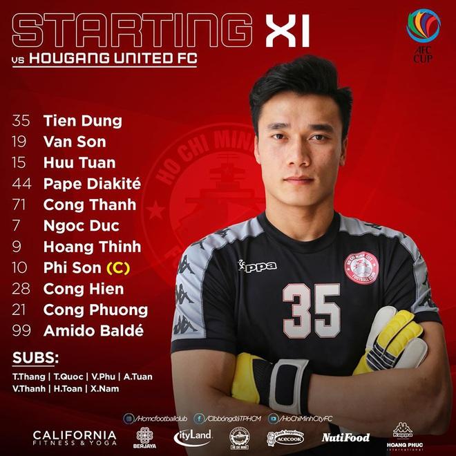 TRỰC TIẾP AFC Cup Hougang United 0-2 TP.HCM: Công Phượng tỏa sáng, ghi bàn ở 2 trận liên tiếp - Ảnh 1.