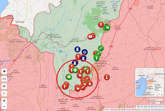 Phiến quân sụp đổ, QĐ Syria thần tốc tiến về đường M4: Lá chắn sống của Thổ vỡ vụn - Ảnh 1.