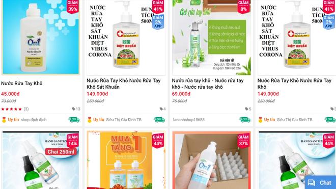 Giá nước rửa tay khô lao dốc trong mùa dịch Covid-19 khi quay lại siêu thị ở Hà Nội - Ảnh 5.