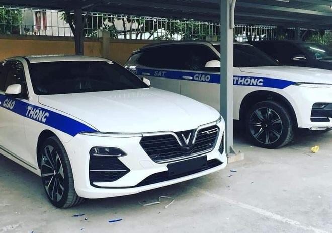VinFast Lux sẽ được trang bị cho lực lượng CSGT Việt Nam làm nhiệm vụ? - Ảnh 1.