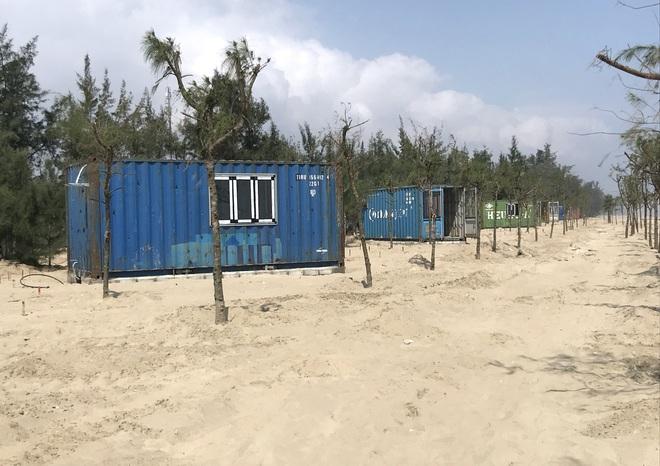 Cận cảnh cả trăm nhà bằng container trái phép trong rừng phòng hộ ven biển Xuân Thành - Ảnh 27.