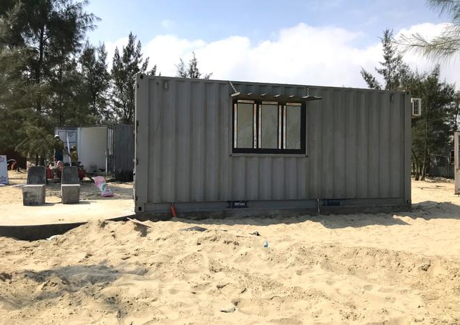 Cận cảnh cả trăm nhà bằng container trái phép trong rừng phòng hộ ven biển Xuân Thành - Ảnh 12.