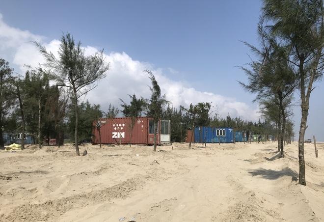 Cận cảnh cả trăm nhà bằng container trái phép trong rừng phòng hộ ven biển Xuân Thành - Ảnh 5.