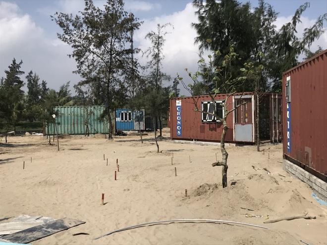 Cận cảnh cả trăm nhà bằng container trái phép trong rừng phòng hộ ven biển Xuân Thành - Ảnh 25.