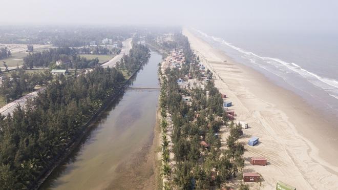 Cận cảnh cả trăm nhà bằng container trái phép trong rừng phòng hộ ven biển Xuân Thành - Ảnh 9.
