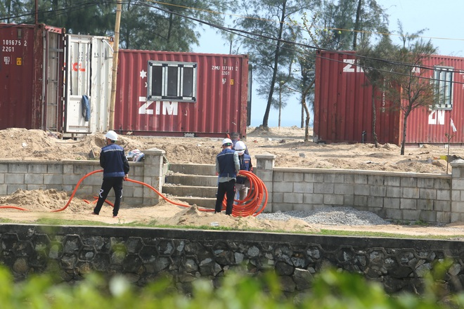 Cận cảnh cả trăm nhà bằng container trái phép trong rừng phòng hộ ven biển Xuân Thành - Ảnh 18.