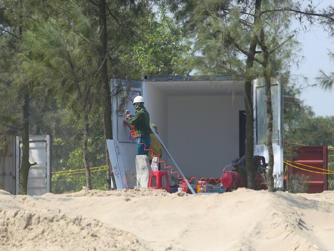 Cận cảnh cả trăm nhà bằng container trái phép trong rừng phòng hộ ven biển Xuân Thành - Ảnh 17.