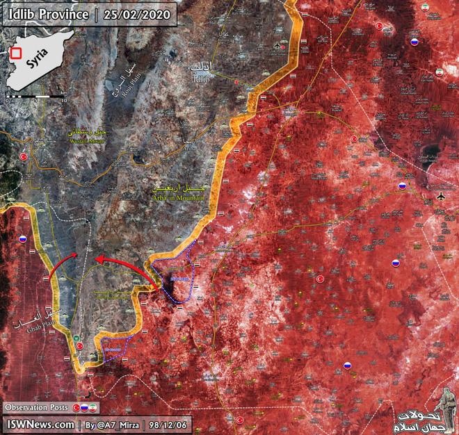Mưu sâu kế hiểm, Nga-Syria lấn, lách vây phiến quân, trói chặt căn cứ Thổ: Ngay và luôn! - Ảnh 3.