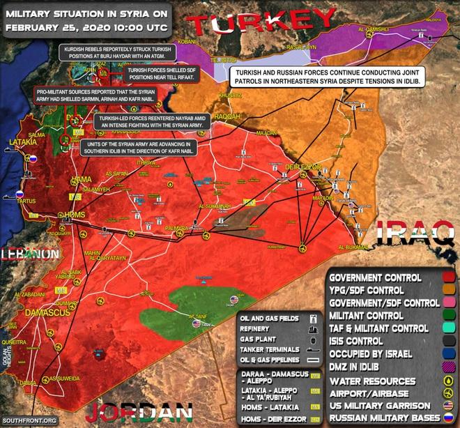Mưu sâu kế hiểm, Nga-Syria lấn, lách vây phiến quân, trói chặt căn cứ Thổ: Ngay và luôn! - Ảnh 5.
