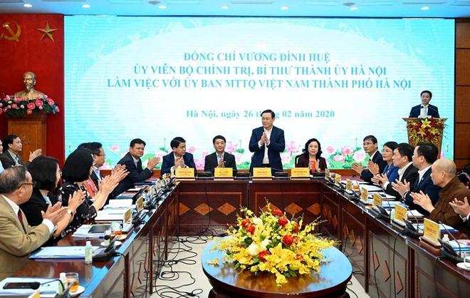 Bí thư Hà Nội Vương Đình Huệ: Bảo vệ Thủ đô trước dịch Covid-19 cũng là bảo vệ cho cả nước - Ảnh 3.