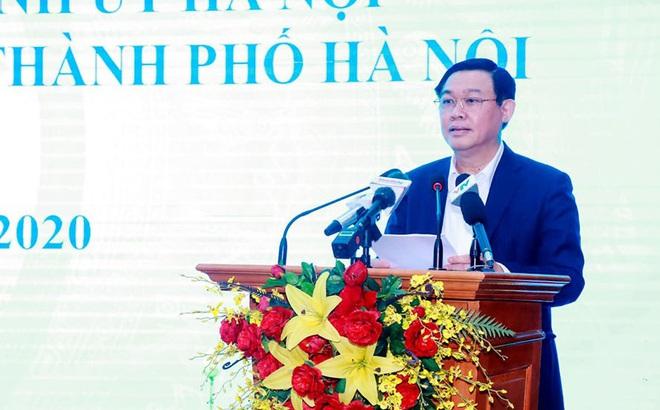 Bí thư Hà Nội Vương Đình Huệ: Bảo vệ Thủ đô trước dịch Covid-19 cũng là bảo vệ cho cả nước