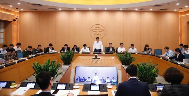 Chủ tịch Hà Nội: Chúng ta phải khẳng định, đến giờ phút này Hà Nội chưa phát hiện trường hợp lây nhiễm chéo dịch Covid-19 - Ảnh 8.