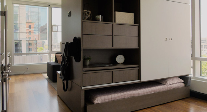 Thời 4.0: Chiêm ngưỡng hệ thống nội thất đa năng có thể biến thành mọi không gian sống chỉ trong một nút bấm - Ảnh 3.