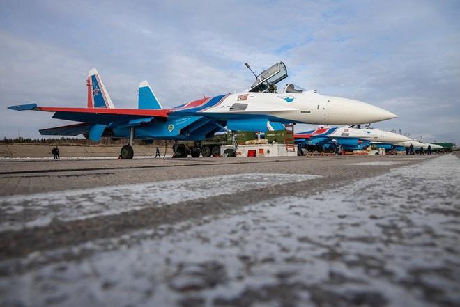 Mãn nhãn với khả năng tác chiến của vua chiến trường Syria Su-35S - Ảnh 3.
