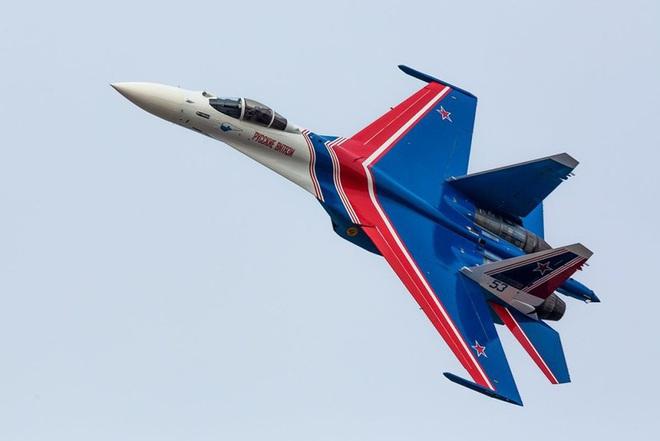 Mãn nhãn với khả năng tác chiến của vua chiến trường Syria Su-35S - Ảnh 10.