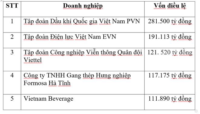 Xuất hiện doanh nghiệp bí ẩn ngành bất động sản có vốn lớn hơn cả Viettel, vào Top 3 của Việt Nam - Ảnh 2.