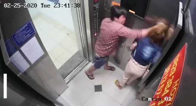 Thông tin bất ngờ vụ cô gái bị người ông giật tóc, đánh trong thang máy chung cư ở Sài Gòn - Ảnh 1.